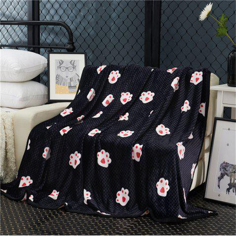 Trendy Weina The Footprints of The Bear The Blanket