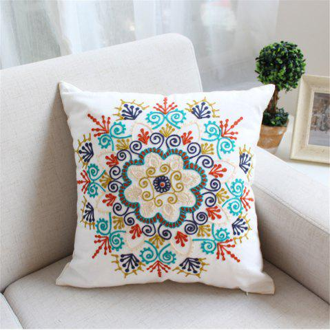 Discount Weina Paper-Cut Flowers Hold Pillow
