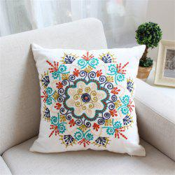 Weina Paper-Cut Flowers Hold Pillow -