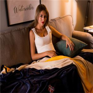 Weina Contracted Colour The Blanket -