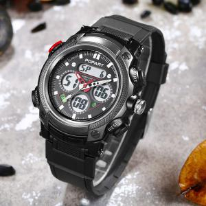 POPART 765AD Outdoor LED Digital Sports Multifunction Wristwatch for Men -