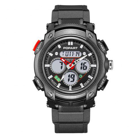Outfit POPART 765AD Outdoor LED Digital Sports Multifunction Wristwatch for Men
