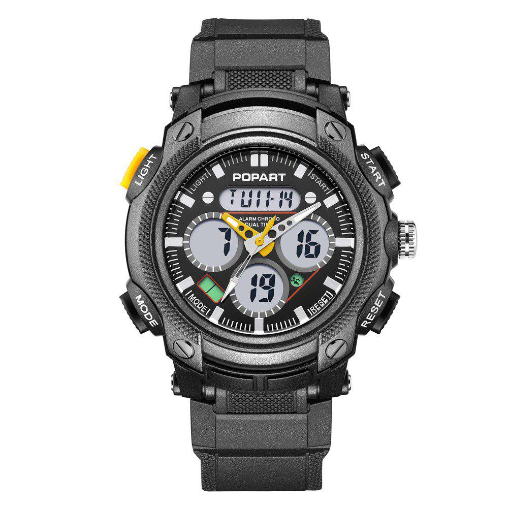 Trendy POPART 765AD Outdoor LED Digital Sports Multifunction Wristwatch for Men