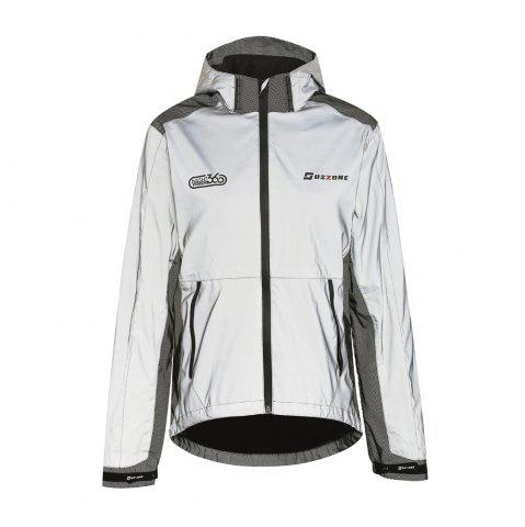 Chic Women's Night Vision 360 Reflective Waterproof Jacket
