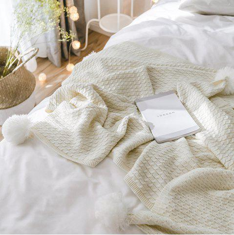 Latest New Cotton Knit Ball Wool Casual Blanket