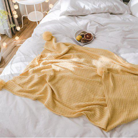 Unique New Cotton Knit Ball Wool Casual Blanket