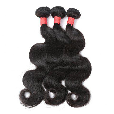 Outfit Brazilian Body Wave Virgin Human Hair Weave Exention Bunldes 3 Pieces 8 inch - 26 inch