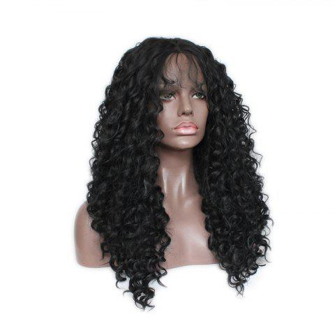 Hot European and American Popular African Koji Black and Black Chemical Fiber Wig