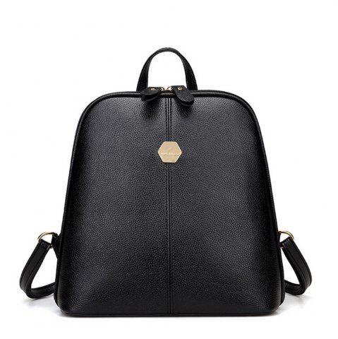 Store Women's Backpack Brief Style Classy All Match Zipper Bag