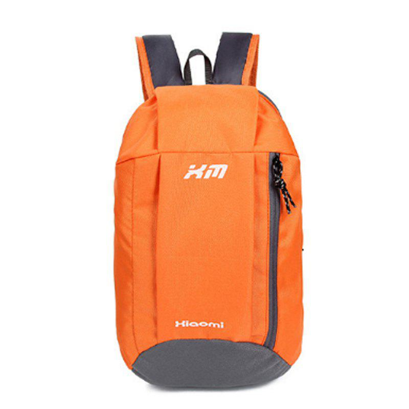 Fashion Women's Backpack Trendy Mixed Color Letter Waterproof Casual Bag