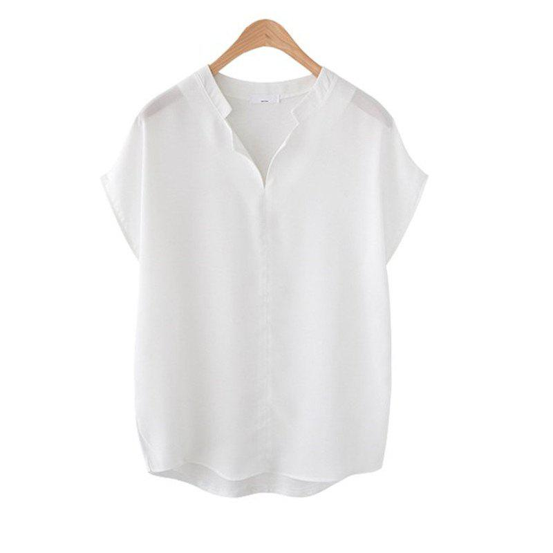 Sale Loose All-Match Short Sleeved Shirt