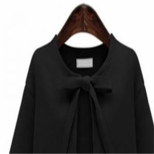 A New Simple Dress Coat for Autumn Clothes -