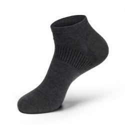 Casual Men Combed Cotton Antibacterial and Anti-odor Ankle Socks -