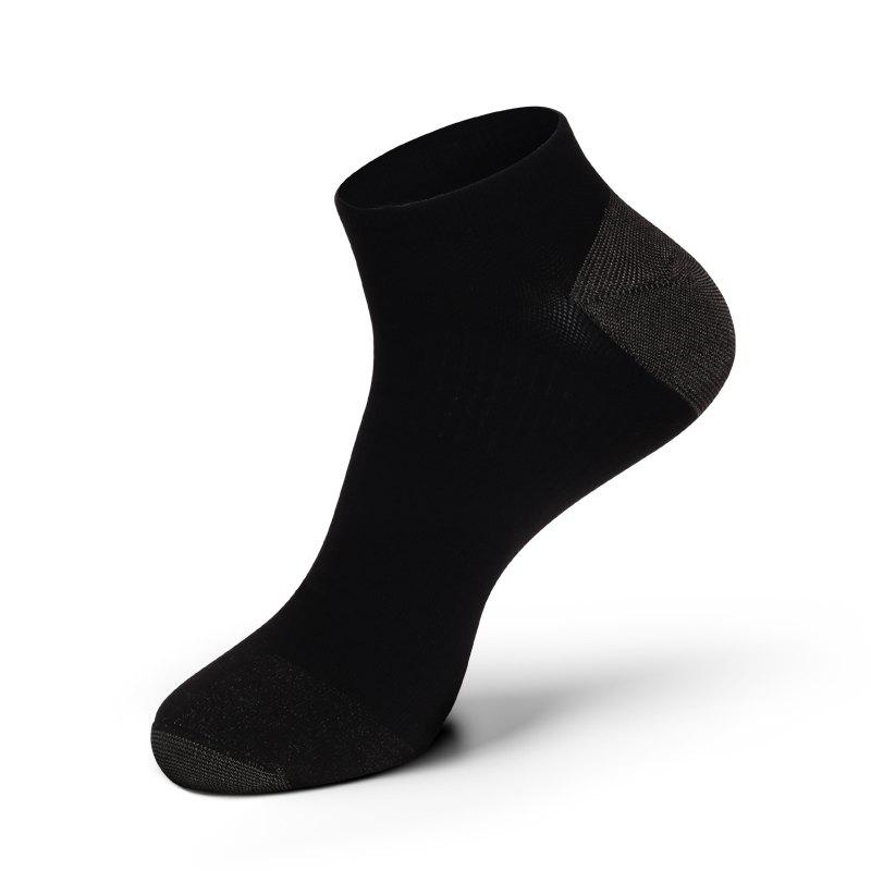 Store Casual Men Combed Cotton Antibacterial and Anti-odor Ankle Socks