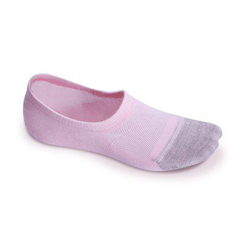 Trendy Women Socks Stylish Shallow Silica Gel Antiskid and Anti Bacterial Invisible Socks