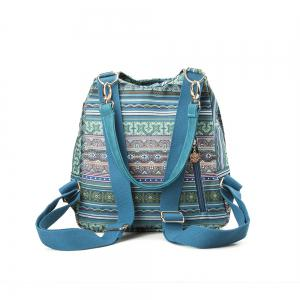 Multi-function Canvas Backpack Top Handle Backpack Women Backpack -
