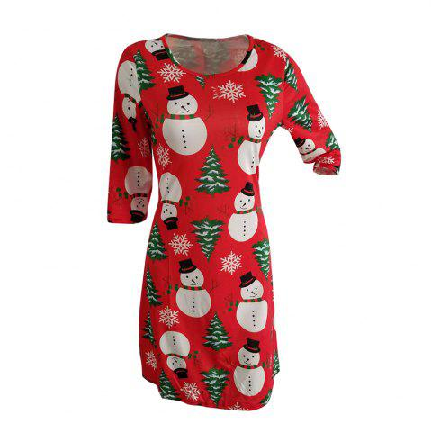Online 2017 Madam's Fashionable And Fallow Christmas Dress