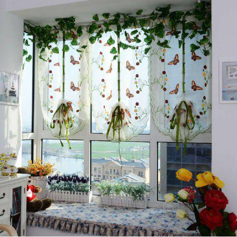 Outfits Water soluble embroidery little butterfly living room curtains