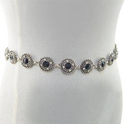 3 Styles Pearl diamond silver plated gold plated trendy Flower Waist chain Jewelry -