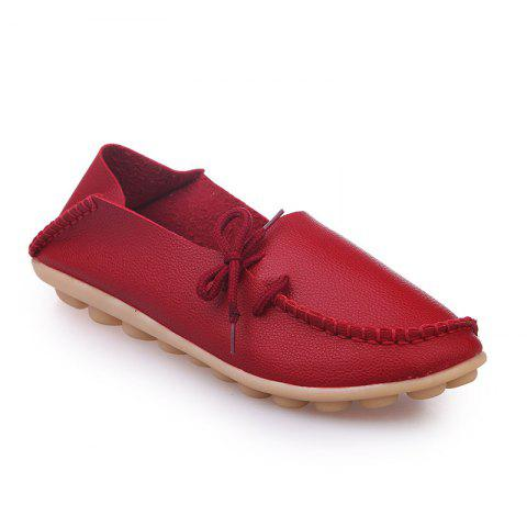 Buy Large Size Loose Flat Shoes