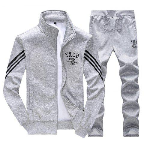 Unique Male Youth Fashion Sportswear Men'S Casual Suit