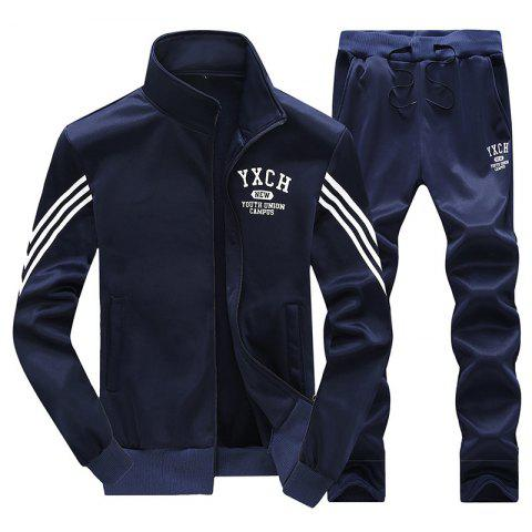 Outfit Male Youth Fashion Sportswear Men'S Casual Suit