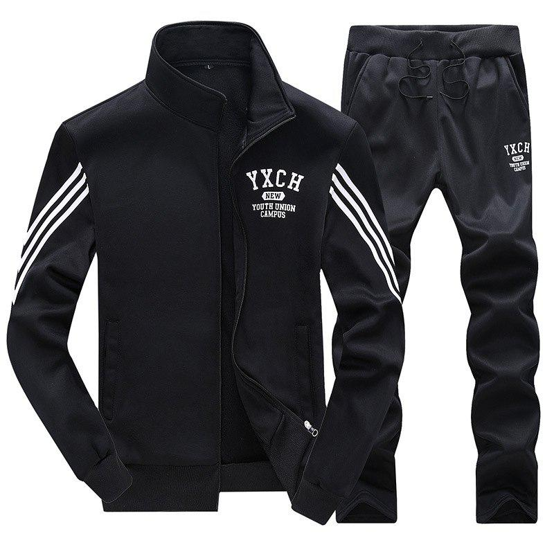 New Male Youth Fashion Sportswear Men'S Casual Suit
