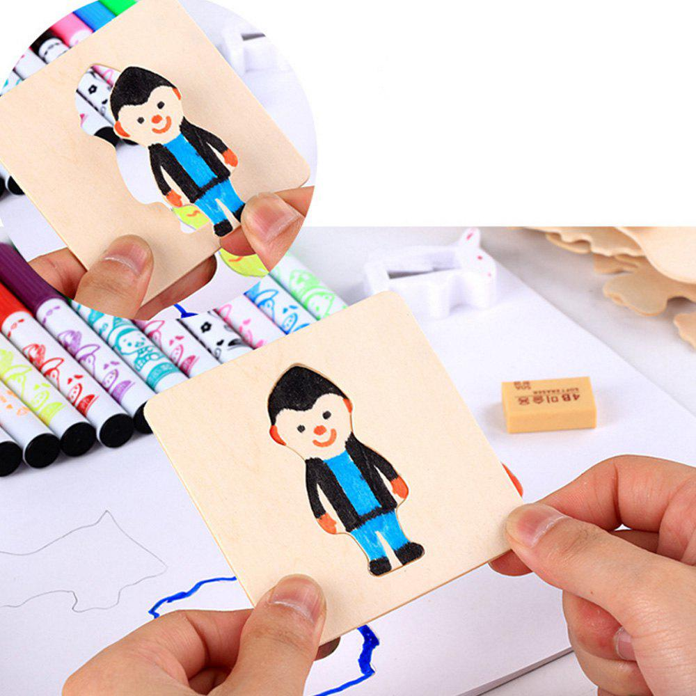 Buy Children coloring Color Painting Template Early Education Wisdom