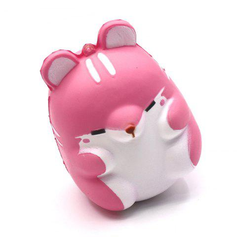 Shop Cute Kawaii Soft Squishy Squishi Colorful Simulation Hamster Toy Slow Rising for Relieves Stress Anxiety Home Decoration