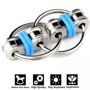 5 colors Creative Bike Chain Fidget Toy for Autism ADHD Stress -
