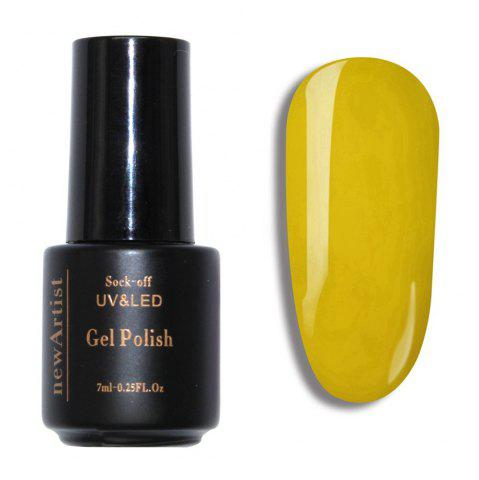 Store NewArtist Pure Color UV LED Nail Gel Polish Lemon Yellow Series 30S Fast Drying Long Lasting Sock Off 7Ml