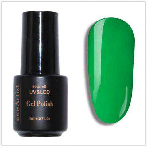 Fancy NewArtist Pure Color UV LED Nail Gel Polish Green Lemon Color Series 30S Fast Drying Long Lasting Sock Off 10Ml