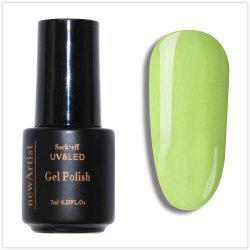 NewArtist Pure Color UV LED Nail Gel Polish Green Lemon Color Series 30S Fast Drying Long Lasting Sock Off 10Ml -