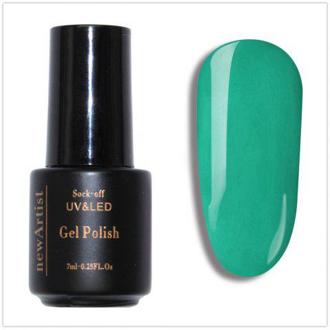 Fashion NewArtist Pure Color UV LED Nail Gel Polish Mustard Green Series 30S Fast Drying Long Lasting Sock Off 7Ml