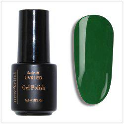 NewArtist Pure Color UV LED Nail Gel Polish Mustard Green Series 30S Fast Drying Long Lasting Sock Off 7Ml -