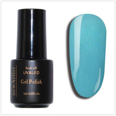 Latest NewArtist Pure Color UV LED Nail Gel Polish Sky Blue Series 30S Fast Drying Long Lasting Sock Off 7Ml