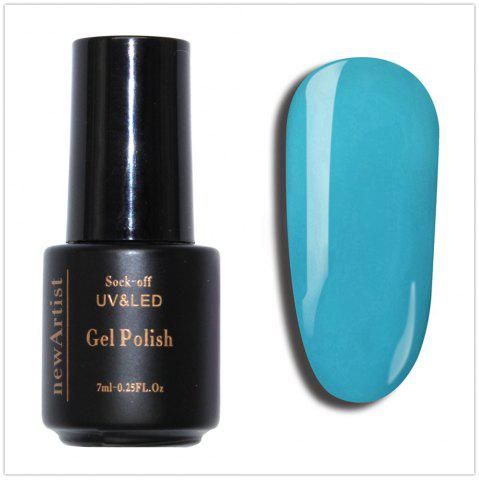 Best NewArtist Pure Color UV LED Nail Gel Polish Sky Blue Series 30S Fast Drying Long Lasting Sock Off 7Ml