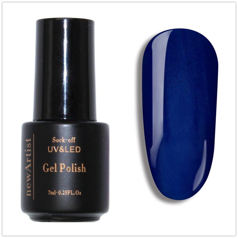 Fashion NewArtist Pure Color UV LED Nail Gel Polish Royal Blue Series 30S Fast Drying Long Lasting Sock Off 7Ml