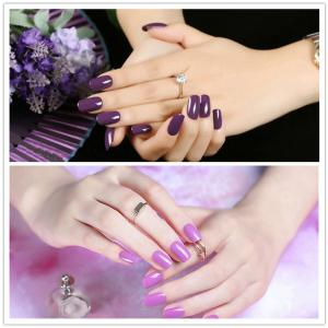 NewArtist Pure Color UV LED Nail Gel Polish Lilac Series 30S Fast Drying Long Lasting Sock Off 7Ml -