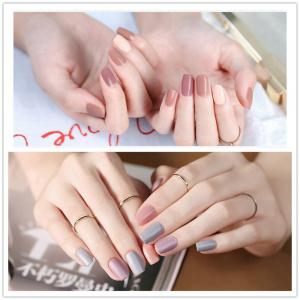 NewArtist Pure Color UV LED Nail Gel Polish Nude Series 30S Fast Drying Long Lasting Sock Off 7Ml -