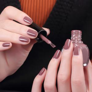 NewArtist Pure Couleur UV LED Nail Gel Polonais Cappuccino Série 30S Séchage Rapide Longue Sock Off 7Ml -