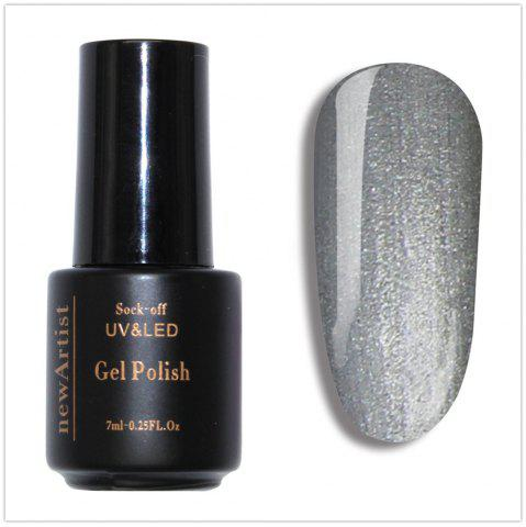 Sale NewArtist Pure Color UV LED Nail Gel Polish Sliver Golden Shining Series 30S Fast Drying Long Lasting Sock Off 7Ml