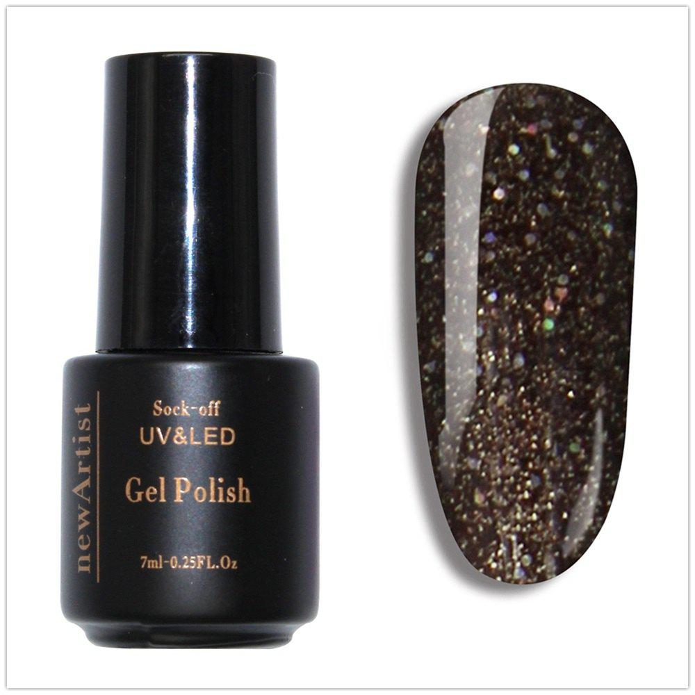 Trendy NewArtist Pure Color UV LED Nail Gel Polish Bling Shining Series 30S Fast Drying Long Lasting Sock Off 7Ml