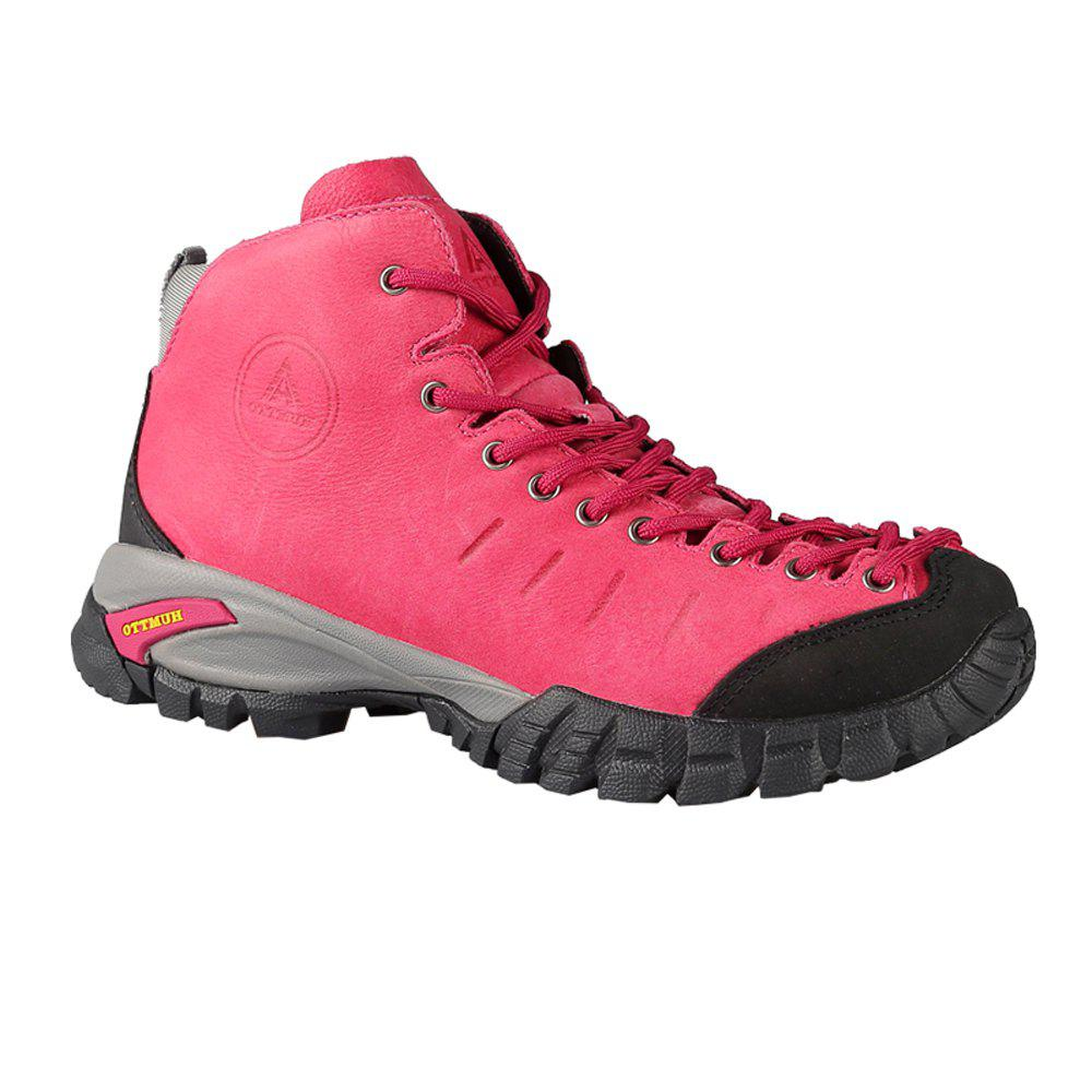 Outfit HUMTTO Women Hiking Shoes Walking Climbing Boots Leather Lace-up Sneakers