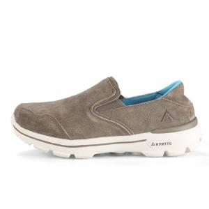 HUMTTO Women Running Shoes Leather Breathable Light Anti-skid Sneaker -
