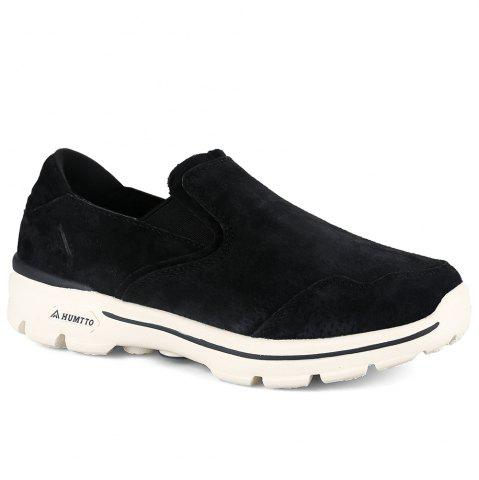 Trendy HUMTTO Women Running Shoes Leather Breathable Light Anti-skid Sneaker