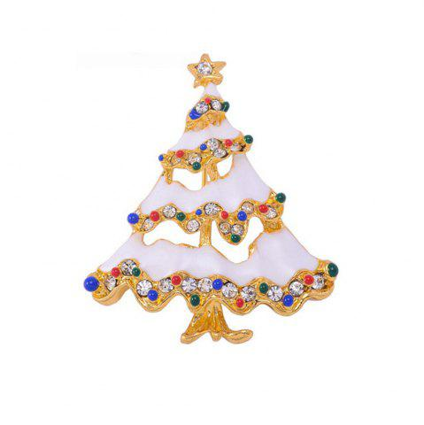 Latest Christmas Brooch Christmas Tree Brooches Charm Rhinestone Brooch Pin for Women Cheap-Christmas-Ornament Christmas Gift