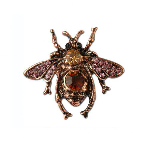 Store Vintga Cute Animal Bee Brooch For Women In Europe And America High-grade brooch