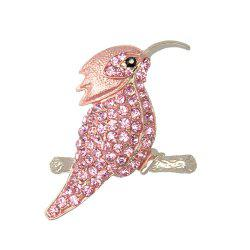 High Quality Jewelry Animal Brooch Cute Hummingbird Brooches for Fashion Lady -