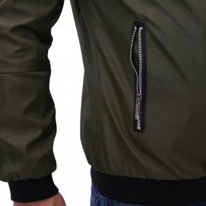 Men'S Zipper Jacket Decorations -